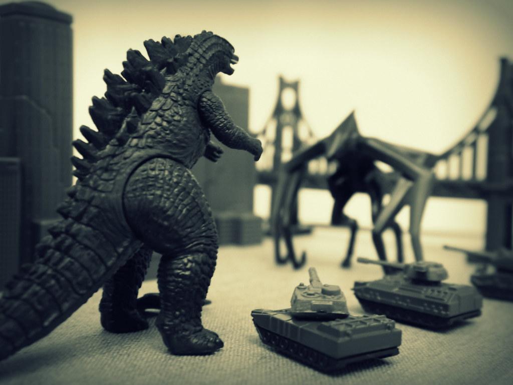 Godzilla V Muto R D L Flickr