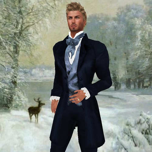 SF NEW TUX ELYSIUM in blue | by mimi.juneau *Mimi's Choice*
