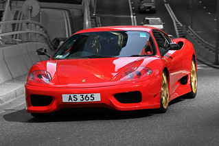 Ferrari, 360, Challenge Stradale, Central, Hong Kong | by Daryl Chapman Photography