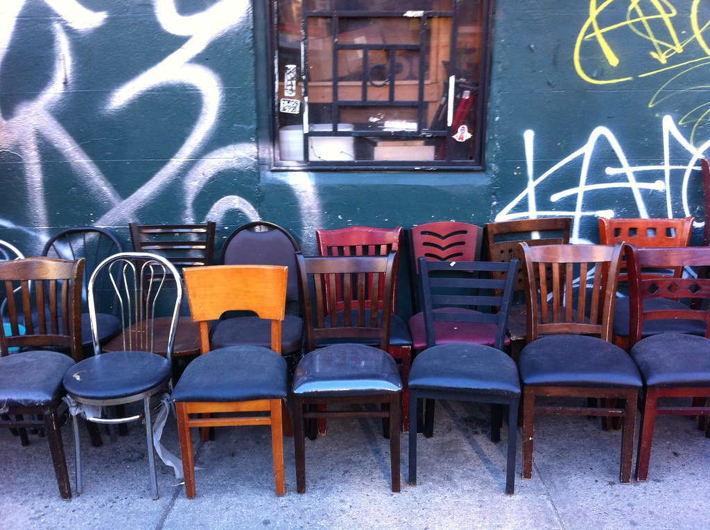 Charmant ... Used Restaurant Chairs For Sale Chinatown, NYC | By PoconoPCDoctor