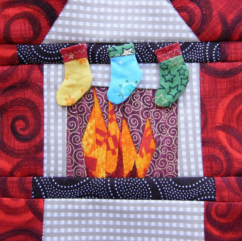Fireplace with Christmas-stockings | by Marjon Savelsberg