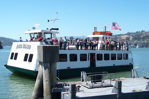 Angel Island Ferry Tiburon