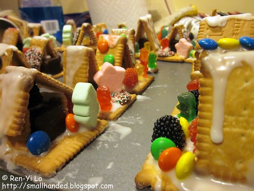 Mini Gingerbread Houses | by smallhanded