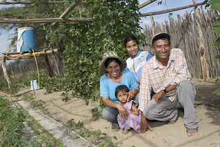 Peruvian family in their garden | by Heifer International
