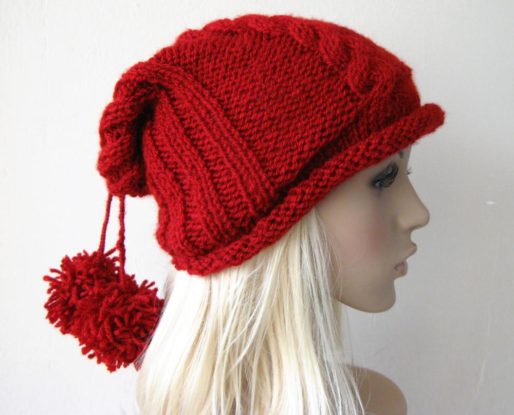 VALENTINE S Red Beanie Hat e8b918d2ea3
