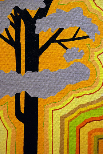 Yellow Tree (detail) | by Chicago Art Department