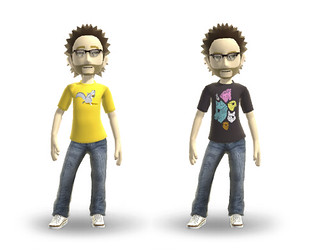 Xbox avatar tees! | by Laser Bread