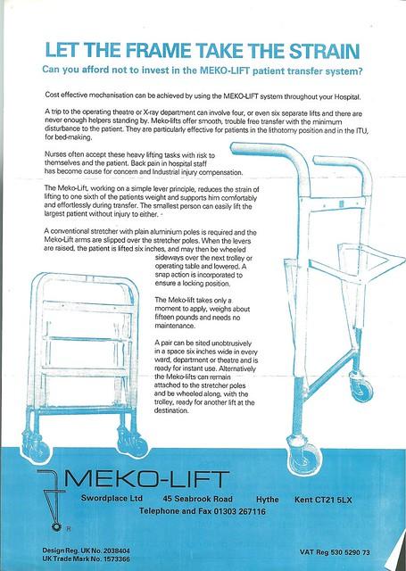 Meko Lift Patient transfer system | Peter Maleczek | Flickr