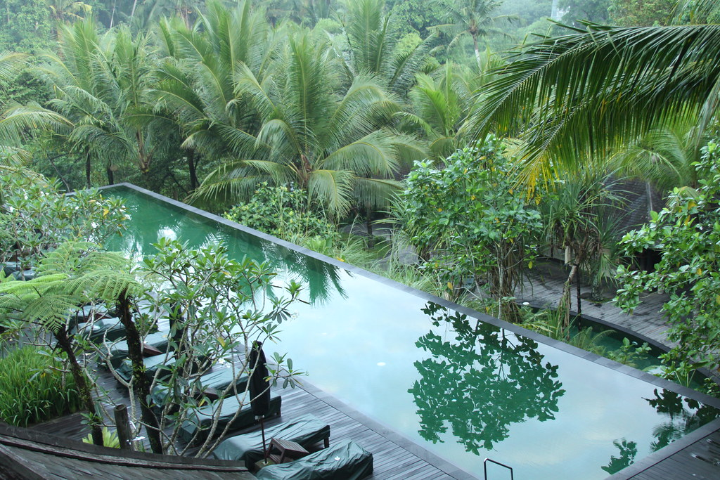 Pool at the Komaneka