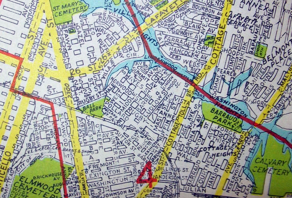Norfolk VA 1950 | Map by Geographia Maps. | davecito | Flickr