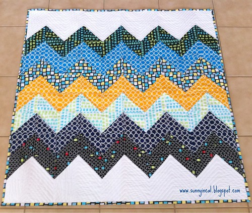 Baby Quilt for Jonathan - Front | by SunnyInCAL