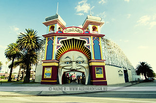 Luna Park, Melbourne | by Naomi Rahim (thanks for 3.5 million visits)