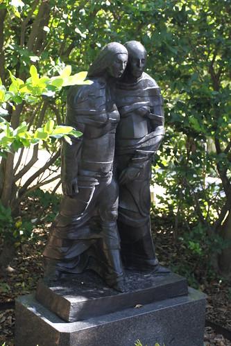 Ruth And Naomi By Leonard Baskin Sydney And Walda Besth Flickr