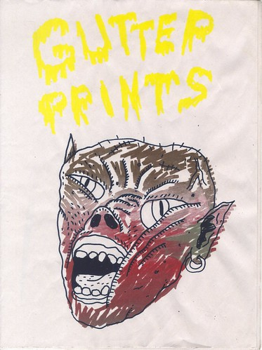 gutter prints cover | by willlaren