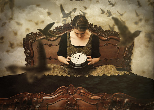 Confusion never stops, closing walls and ticking clocks... | by ErinNicole ツ