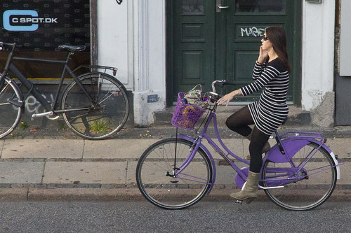 Purple Bike | by Mikael Colville-Andersen