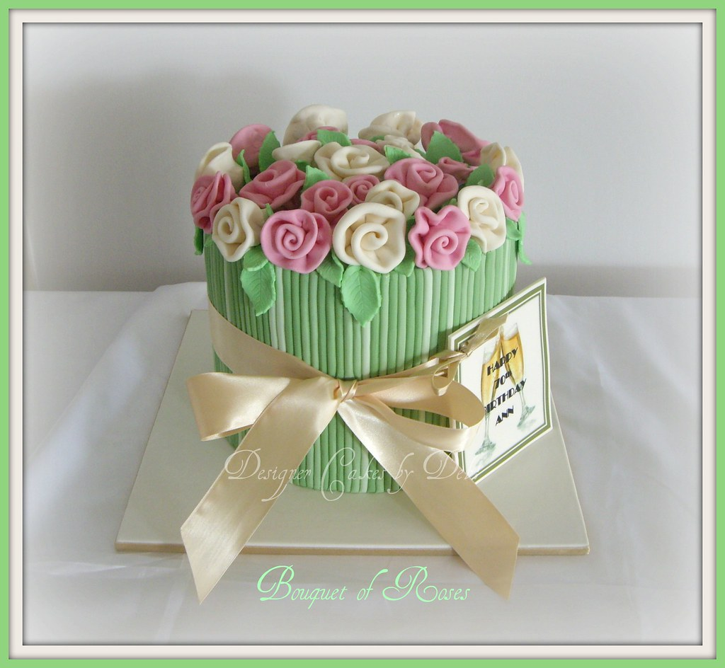 Bouquet of roses cake i had been wanting to make this cake flickr bouquet of roses cake by designer cakes by deb izmirmasajfo