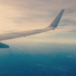 #Flying back to #Miami | by Damian Jr.