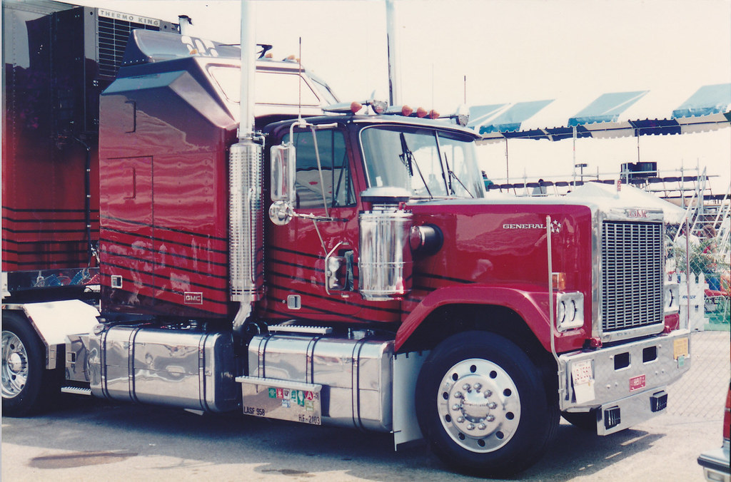 Indy Ppg Pace Car Hauler Gmc General 1987 Toronto Molson I Flickr