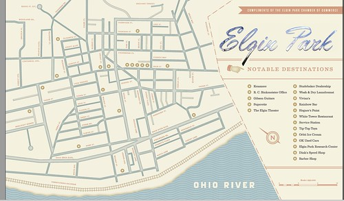 The Official Map of Elgin Park | by Michael Paul Smith