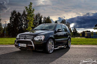 MB ML 320cdi | by Jussi Rajala