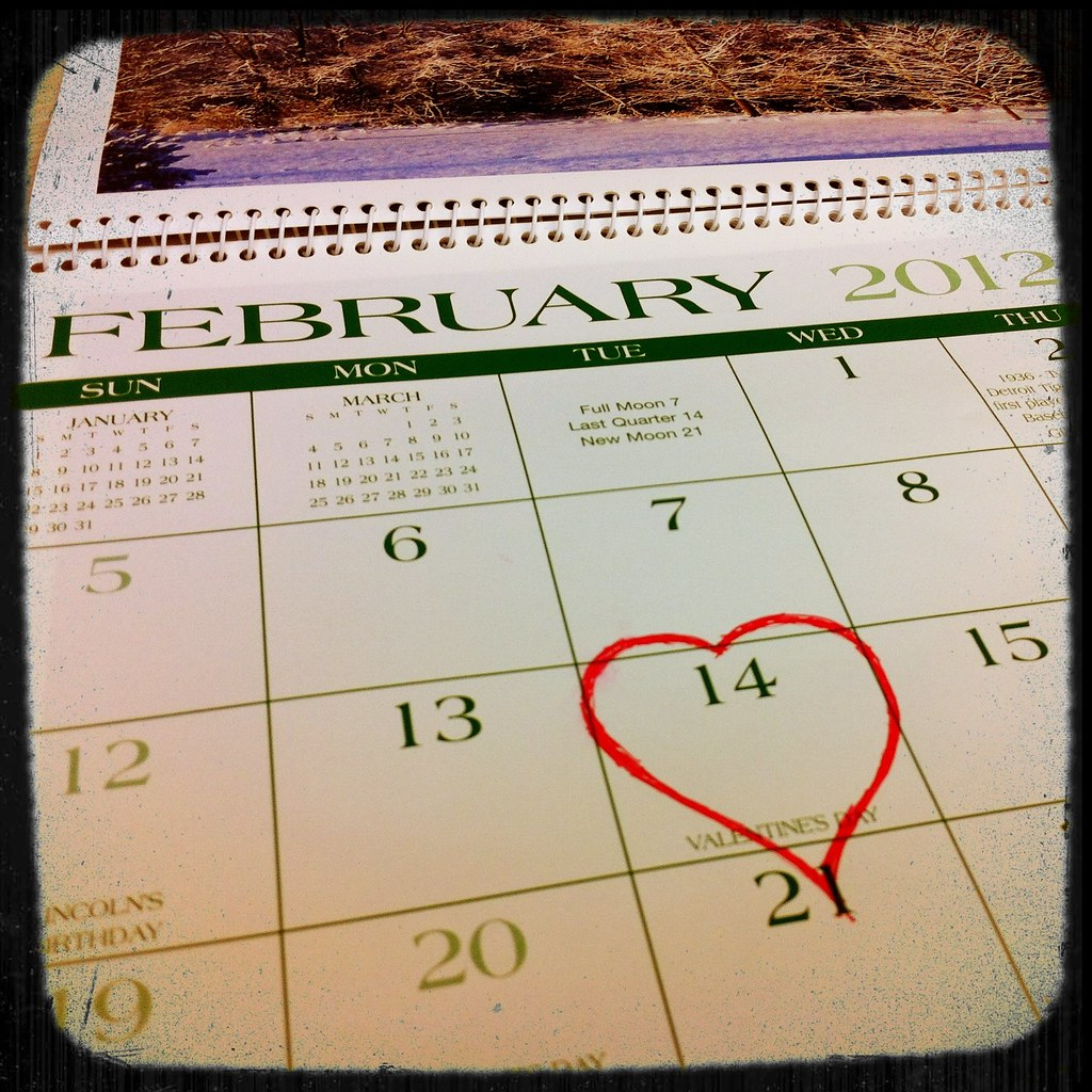 Gardening By The Moon Chart: Valentine7s Day 2012 Calendar | Valentine7s Day 2012 is on Tu2026 | Flickr,Chart