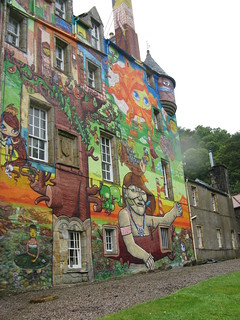 Kelburn Castle in Ayrshire | by Jo Leibrick Harrop been busy but catching up