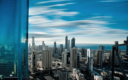 Kuwait - Al Hamra Tower & city | by Abdulaziz ALKaNDaRi | Photographer
