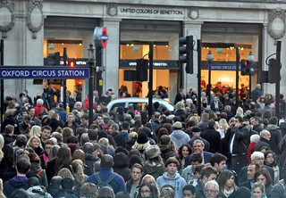 Christmas Shopping on Oxford Street | by MegMoggington