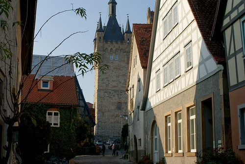 The Blue Tower in Bad Wimpfen | by -Evgeni-