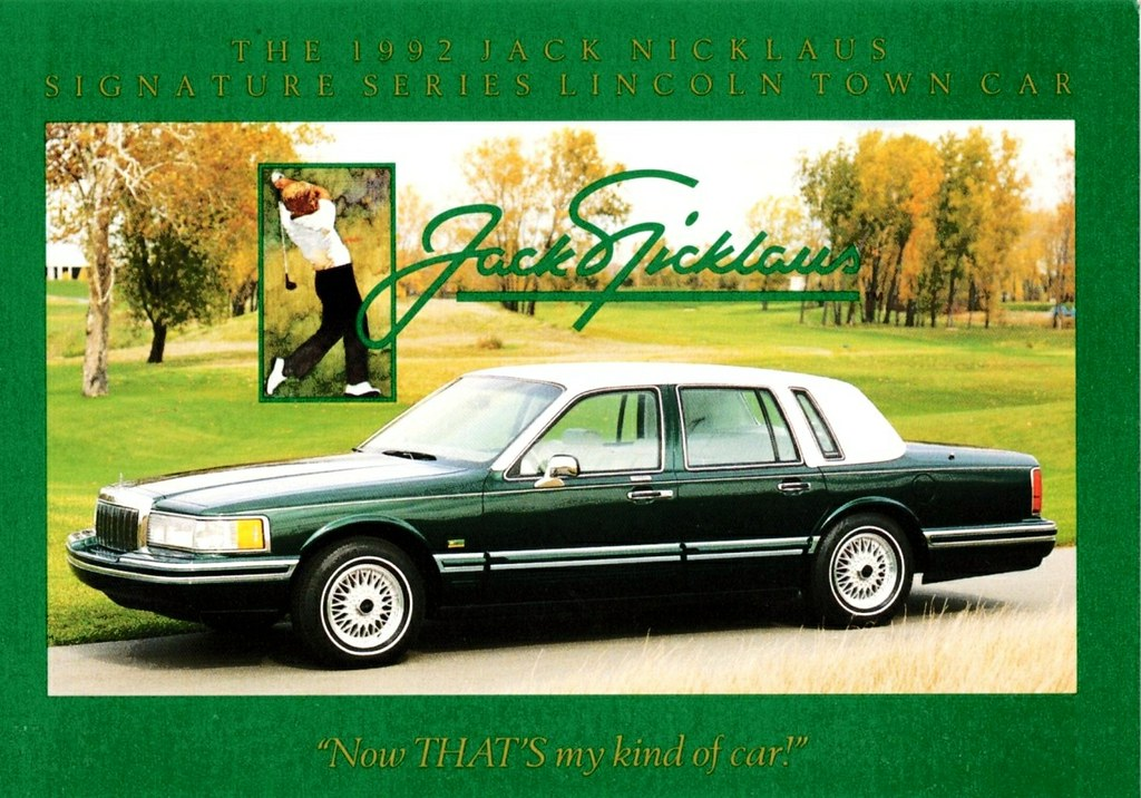 1992 Lincoln Town Car Jack Nicklaus Edition This Special E Flickr