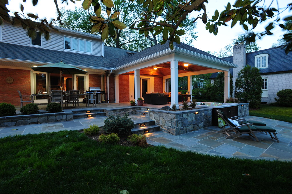 ... Patio And Pavilion In Rockville, Maryland By Design Builders, Inc. | By  Design