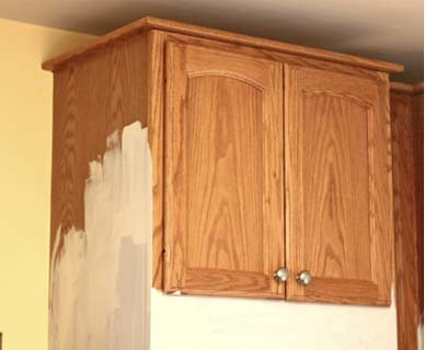 ... Kitchen Cabinets Before | By DIY Del Ray