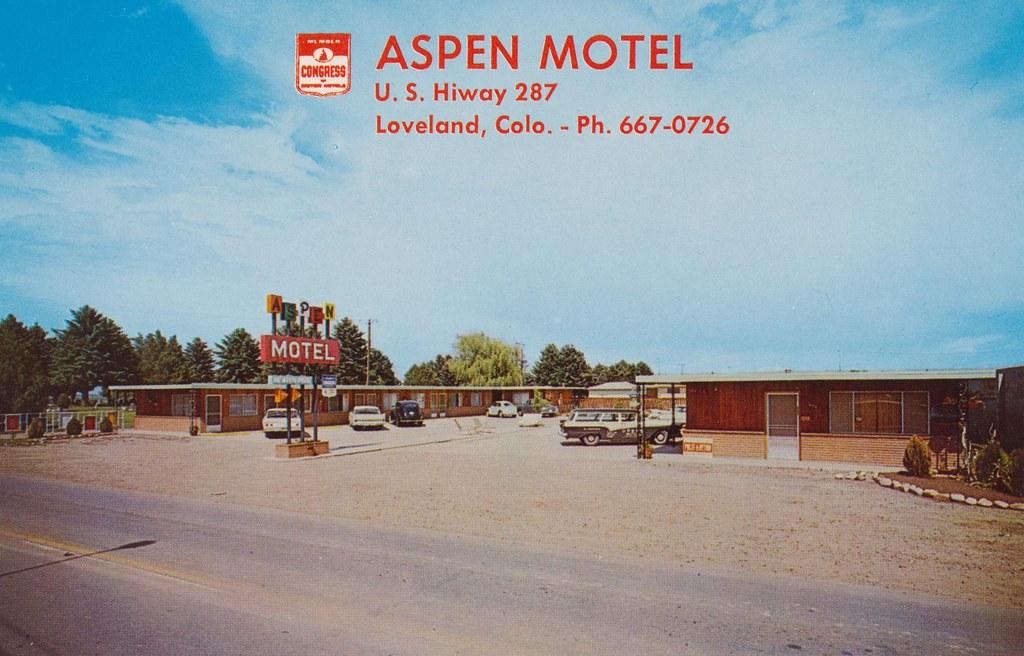 Aspen Motel - Loveland, Colorado