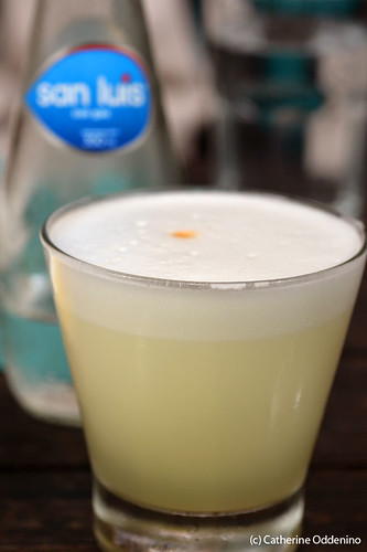 pisco sour La Mar Cebicheria Lima Peru Lunch gluten-free (6) | by yumcat