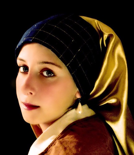 Girl with a pearl earring | by Susan LeBlanc