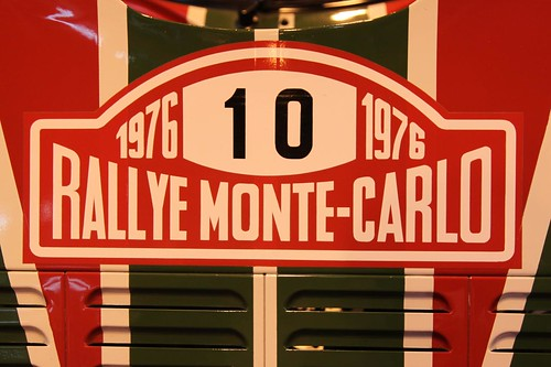 lancia stratos monte carlo rally plaque autosport show 2. Black Bedroom Furniture Sets. Home Design Ideas