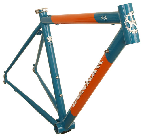 Gunnar Roadie with Miami Dolphins Colors - Front View | by Gunnar Cycles
