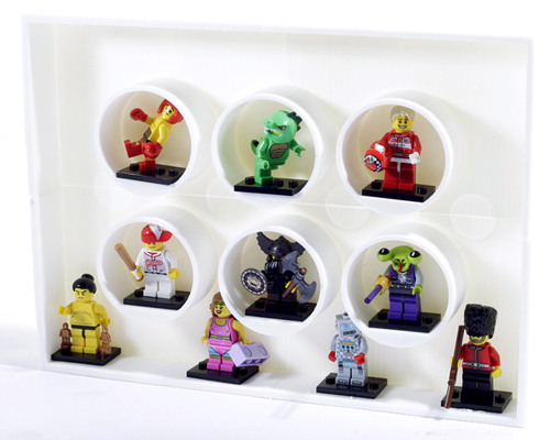 3D printed Lego Minifigure display case | A personal project… | Flickr
