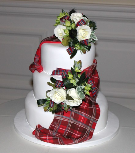 The Cake ( tartan made of icing) | by ali's pics