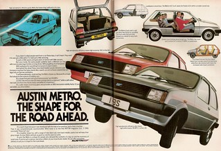 Austin Metro Advert 1981 | by Trigger's Retro Road Tests!