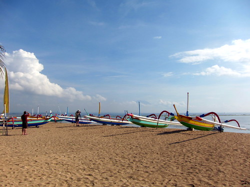 Sanur Beach Boats | by seattlerachel