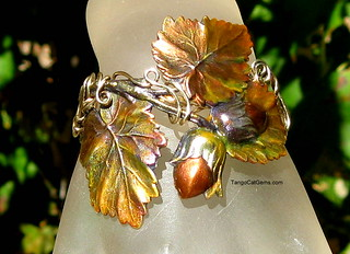 Autumn Leaves Bracelet | by tangocatgems1