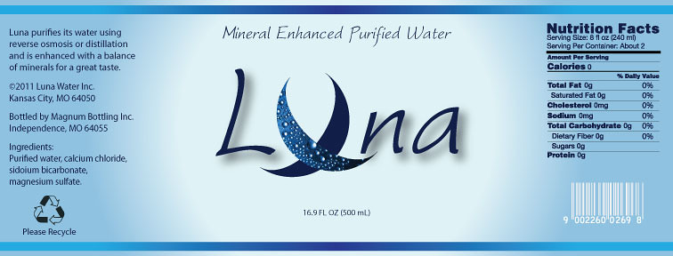 Water bottle label | Concept for a water bottle label. © Daw… | Flickr