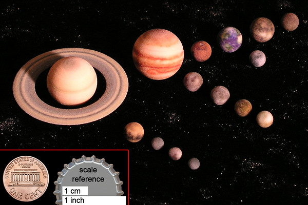 Solar system planets and moons full color 3d printed mod flickr solar system planets and moons full color 3d printed models by stuff tm sciox Choice Image