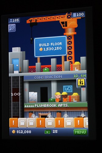 100 floors on tiny tower not sure if i should be proud for 100 floors floor 98