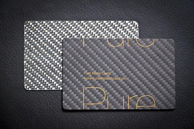 Carbon Fiber Business Cards | Flickr