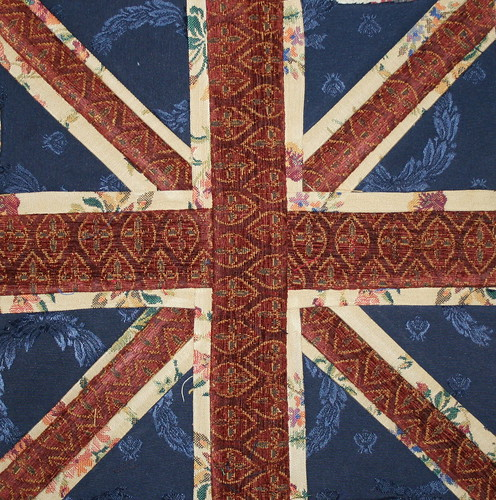 Paper Pieced Union Jack | by Lawson and Lotti