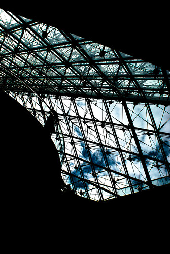 The Sky Is Not The Limit - Louvre Pyramid, Paris | by Janicskovsky