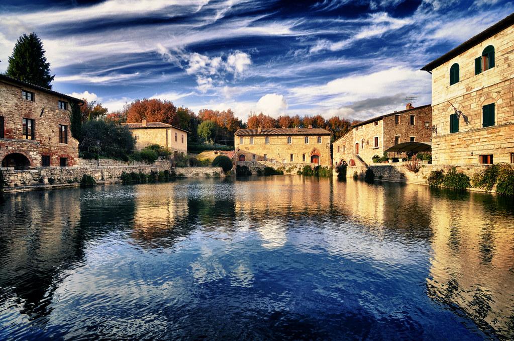 Piazza delle sorgenti - Bagno Vignoni - Val d\'Orcia | Flickr